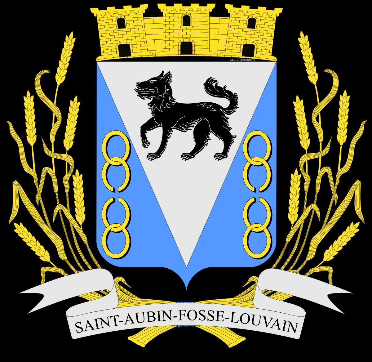 Mairie de St Aubin Fosse Louvain